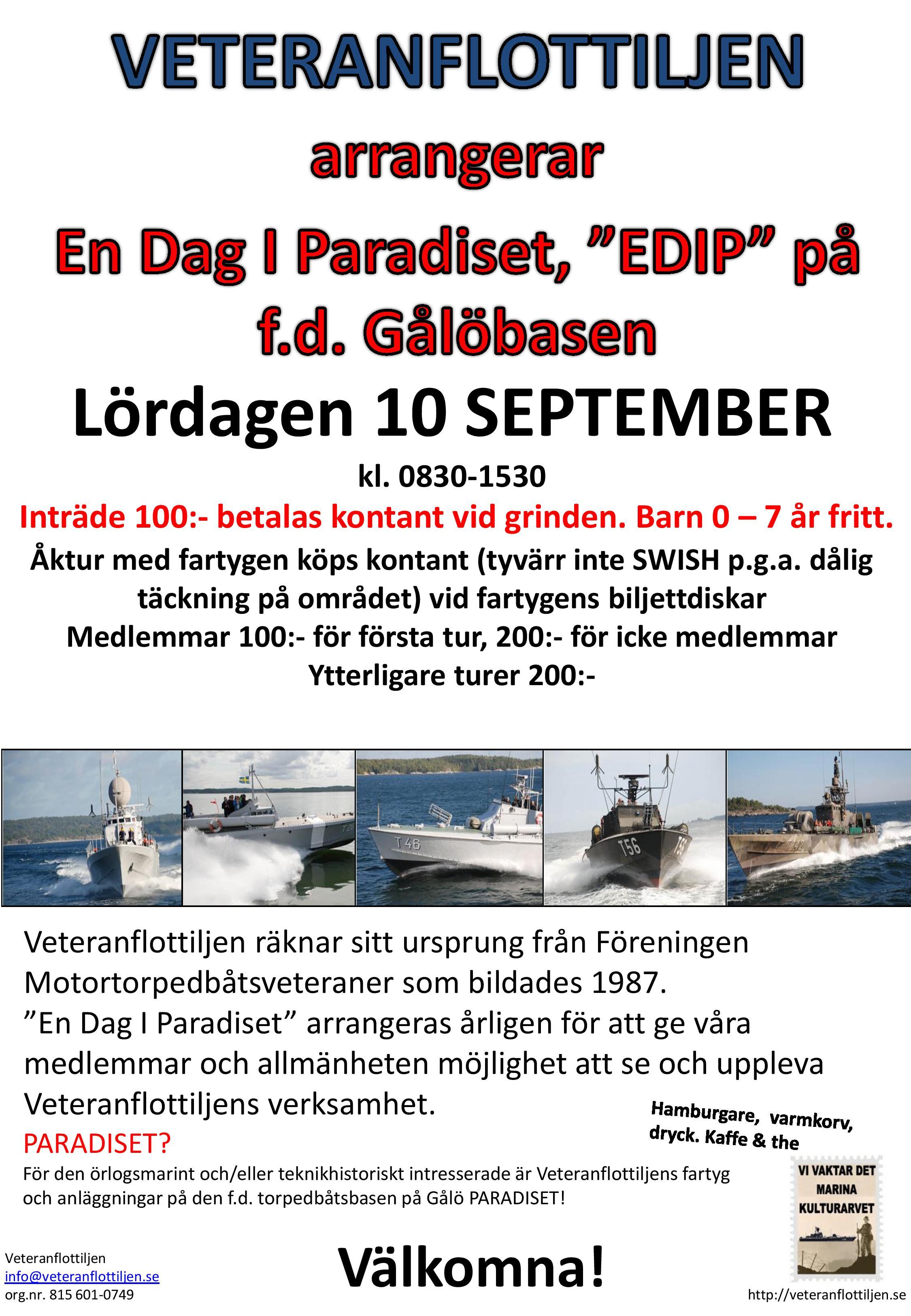 EDIP Affisch A4 2016